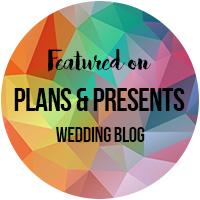 Featured on wedding blog