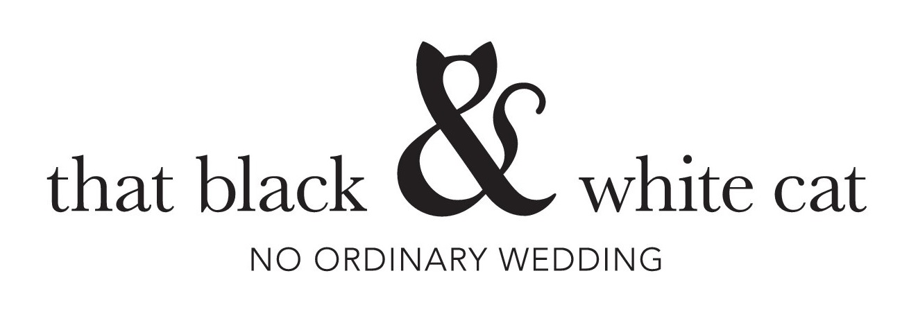 that black & white cat: Award winning 'No Ordinary Wedding' Planner, Design & Styling: UK, Nottingham, East Midlands, Leicester, Alternative, Derby, Warwickshire